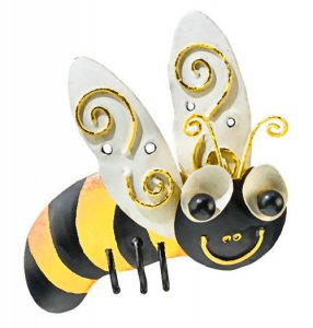 Metalwork Bee Magnet