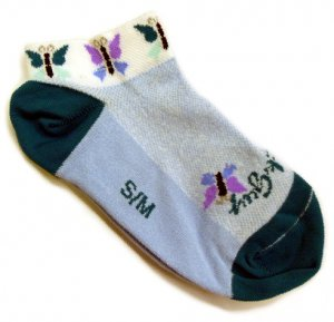 Sock Guy Butterfly Sport Socks