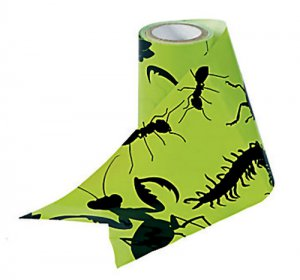 Bug Silhouette Party Streamers, 25 ft.