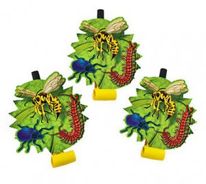 Garden Bug Party Blowouts, pk/6