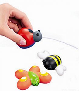 Bug Squirt Toys, pk/12