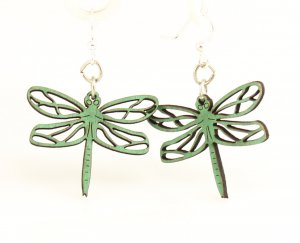 Dragonfly Blossoms Earrings