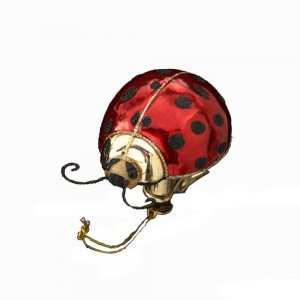 Clip-on Glass LadyBug