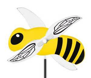 Whirlygig Bumblebee Outdoor Decor